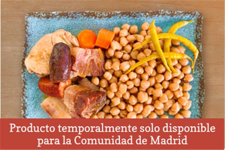 Cocido madrileño (2 personas)