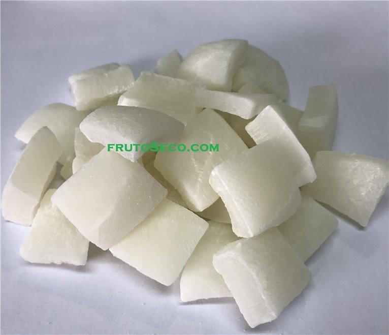 Coco deshidratado Trozos Grandes, bandeja 250 gramos, 1 ud