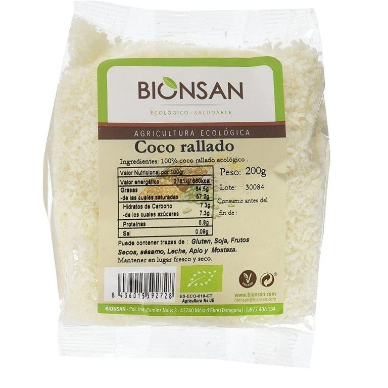 Coco rallado ecológico -200gr