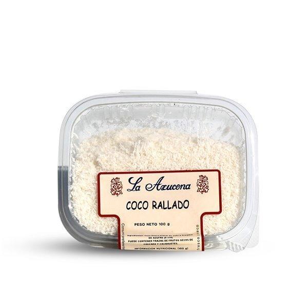 Coco rallado La Azucena. Envase de 100g