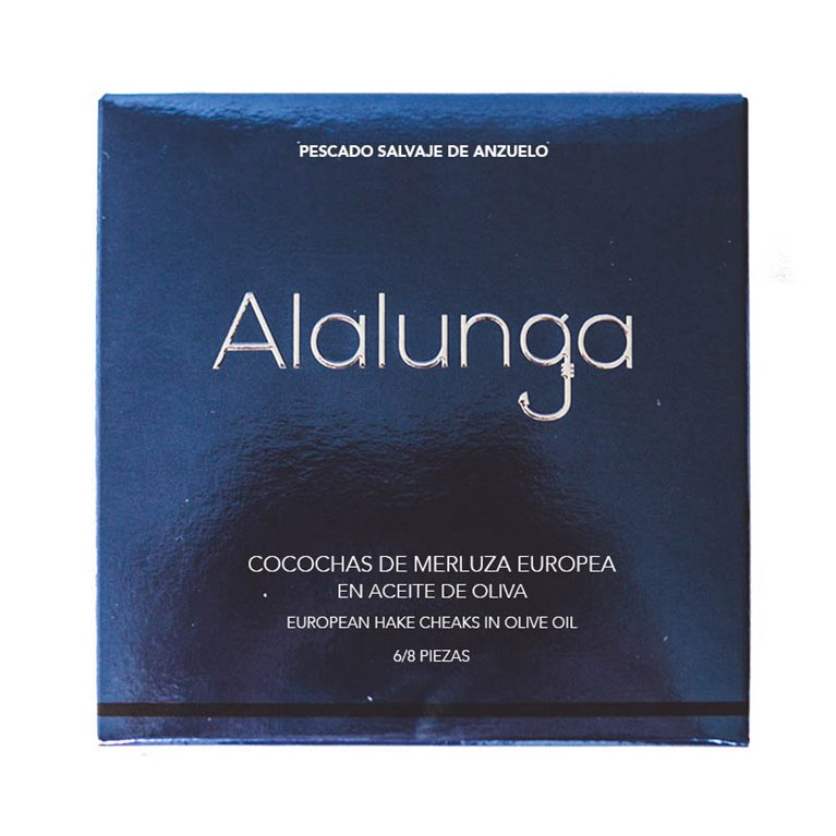 Cocochas de merluza en salsa verde Alalunga