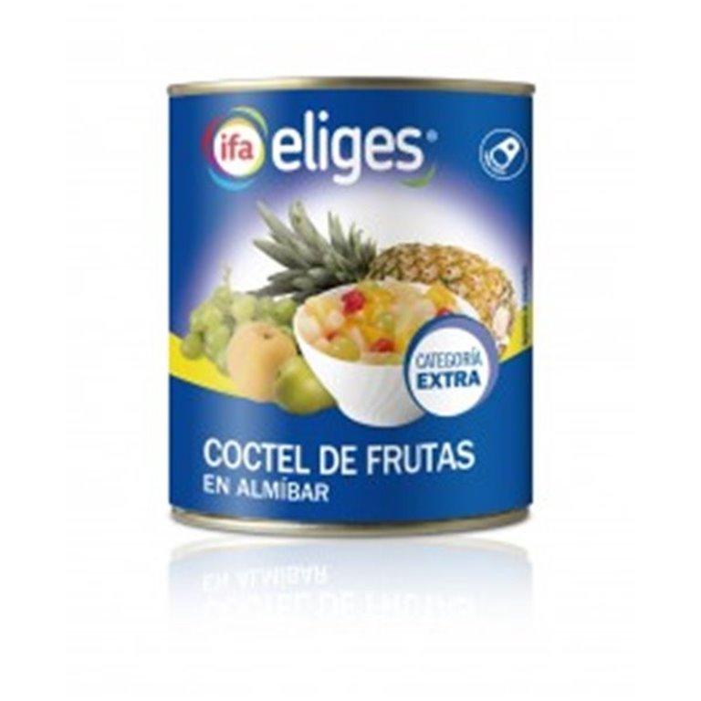 Cóctel de frutas en almíbar categoría extra Eliges