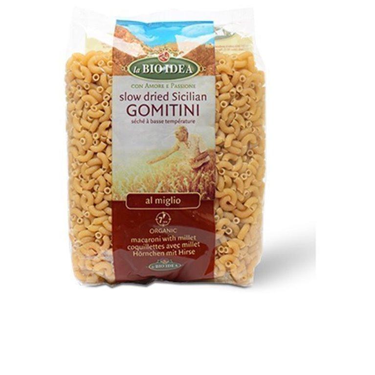 Coditos de trigo con mijo, 500 gr