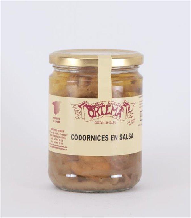 Codornices en salsa, 1 ud