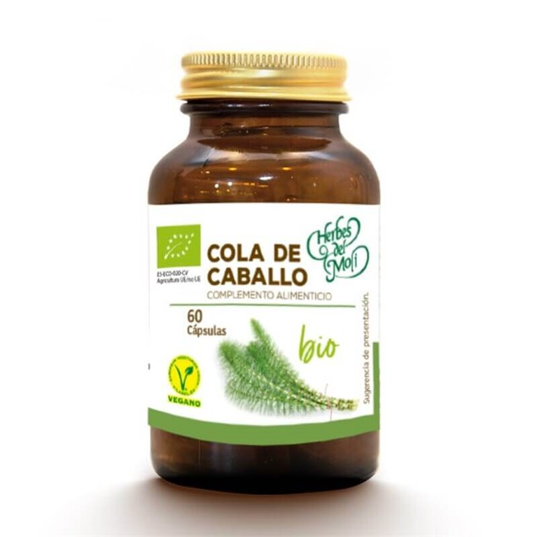 Cola de Caballo BIO - 60 cápsulas - Herbes del moli