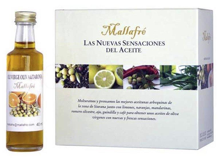 Colección 8 miniaturas de aceites variados. Mallafré. 10un., 1 ud