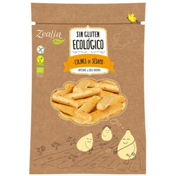 Colines de Sésamo Sin Gluten Bio 75g