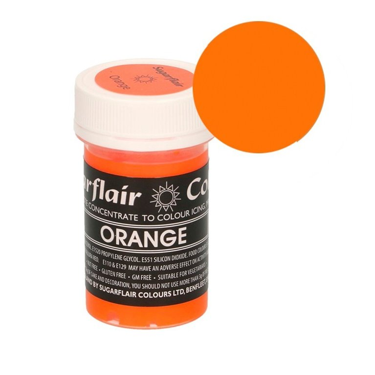 Colorante naranja Sugarflair
