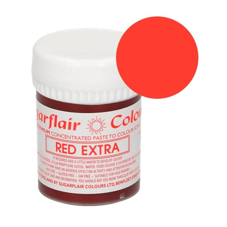 Colorante rojo Extra Sugarflair