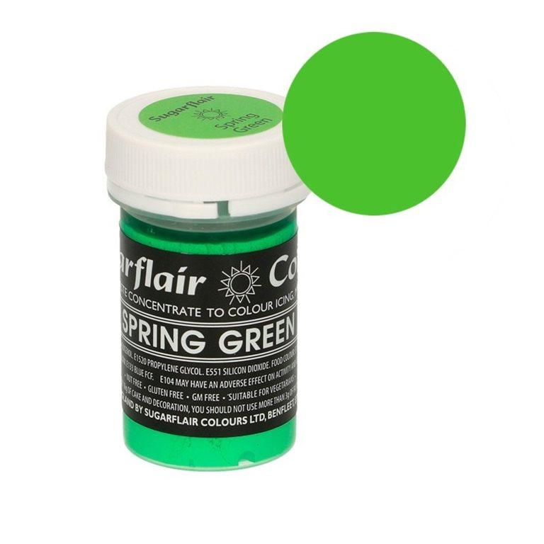 Colorante verde Primavera Sugarflair