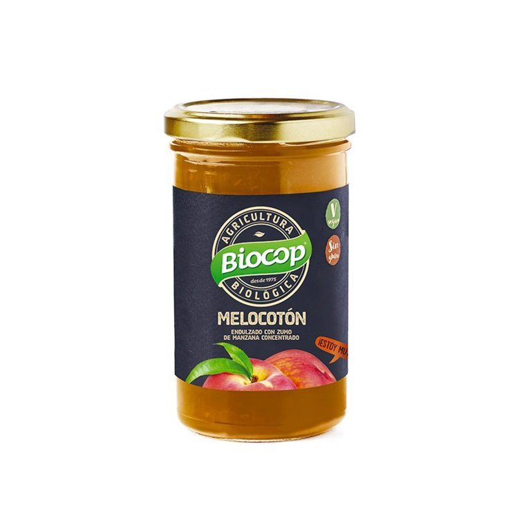 Compota de Melocotón bio 280g Biocop