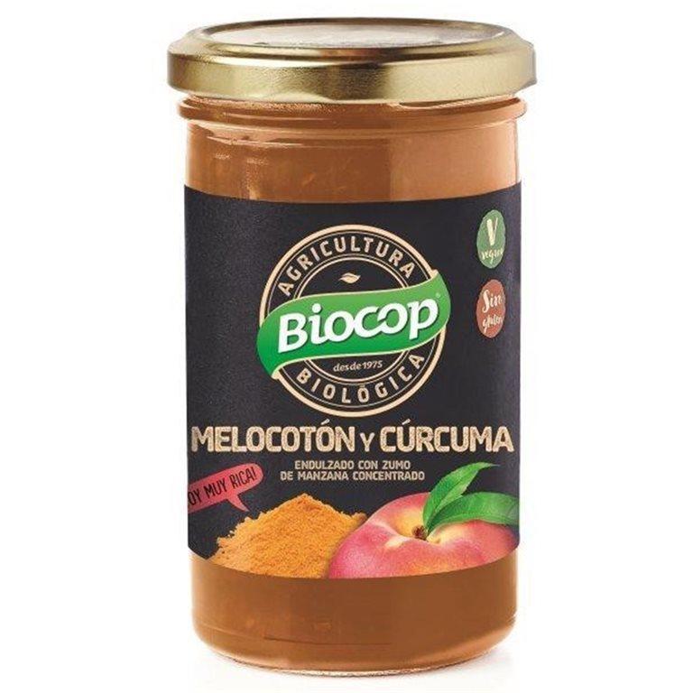 Compota de Melocotón y Cúrcuma (Sin Azúcar) Bio 280g