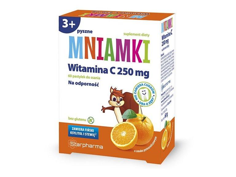 Comprimidos Vitamina C (Sabor Naranja) 60 comprimidos