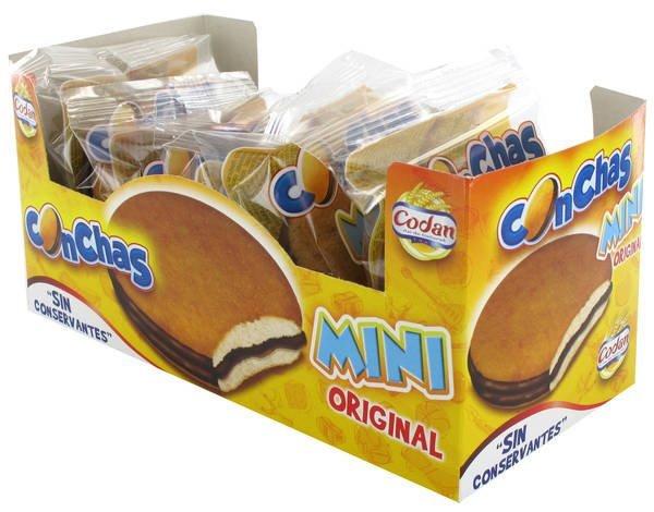 Codan - Mini conchas de chocolate (sin conservantes)