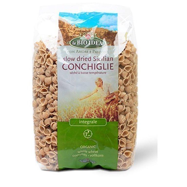 Conchas integrales de trigo, 500 gr