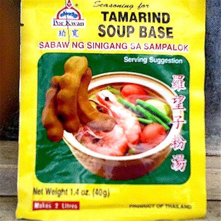 Condimento base para sopa de tamarindo
