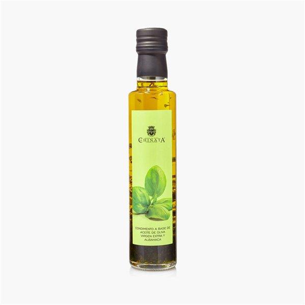 Condimento de Aove y Albahaca 250 ml La Chinata