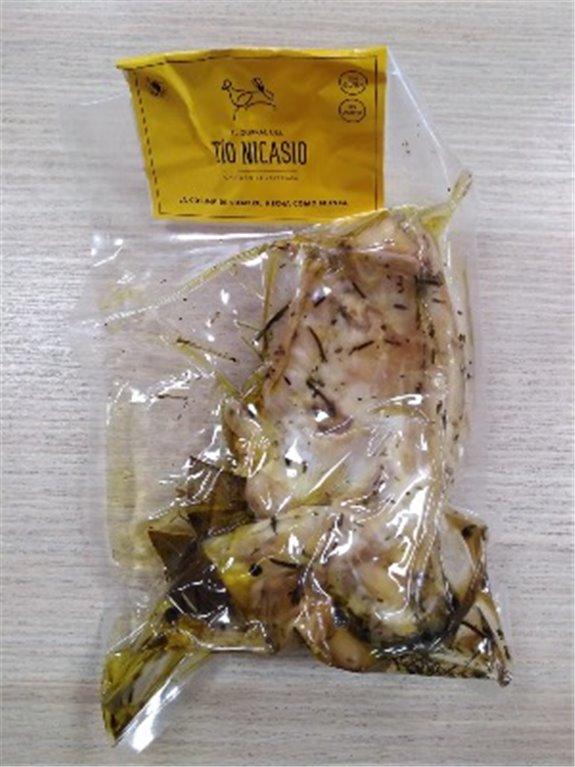 Conejo escabechado bolsa El Corral del Tío Nicasio, 1 ud