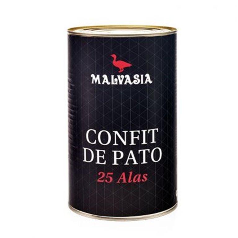 CONFIT DE ALAS DE PATO 25 unidades