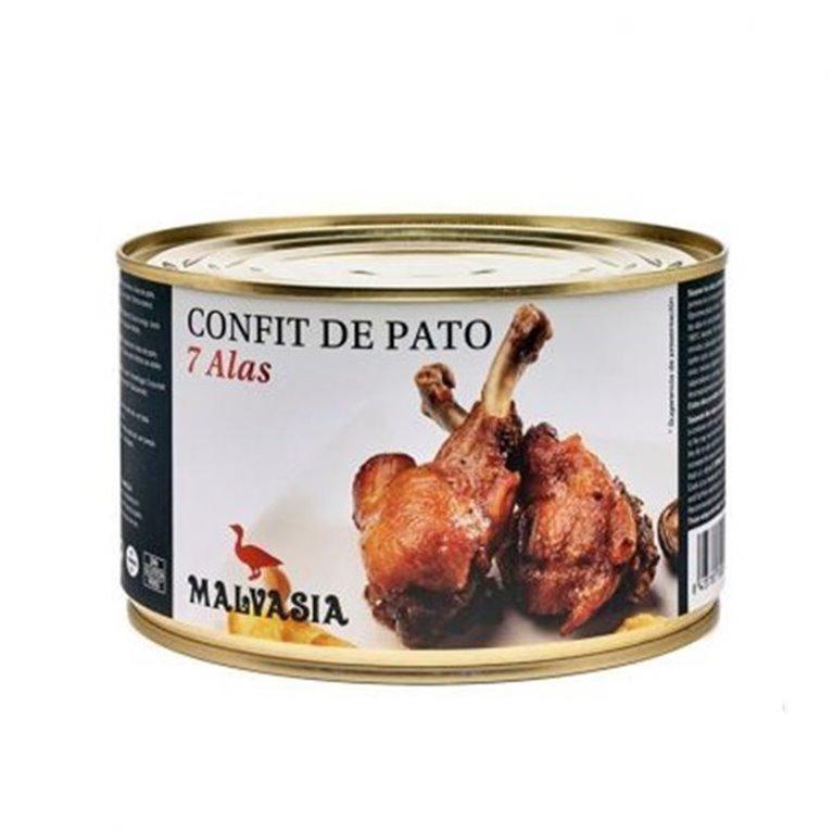 CONFIT DE ALAS DE PATO 7 unidades