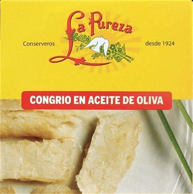 Congrio en Aceite de Oliva 270gr