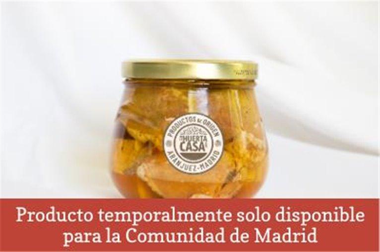 Preserved Iberian pork loin with olive oil (600gr jar)