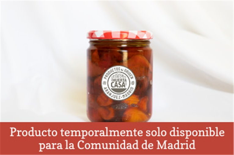 Preserved roasted peppers from the crystal (500gr jar)