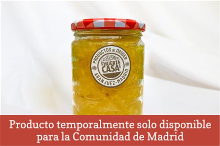 Conserva de piña en almíbar (tarro de 450gr)