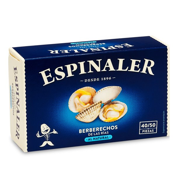 Conserva Espinaler - Berberechos 45/55 piezas