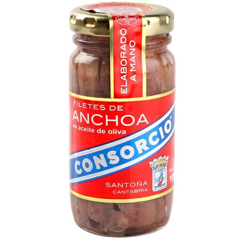 Consorcio - Bote de anchoas en aceite de oliva