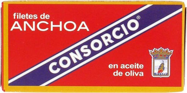 Consorcio - Lata de anchoas en aceite de oliva, 1 kg