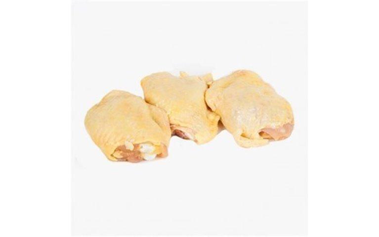 Contramuslos de pollo de corral