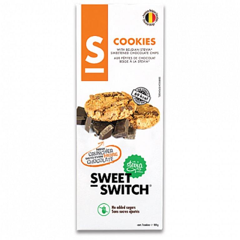 Cookies Belgas con Chocolate (Sin Azúcar) 100g
