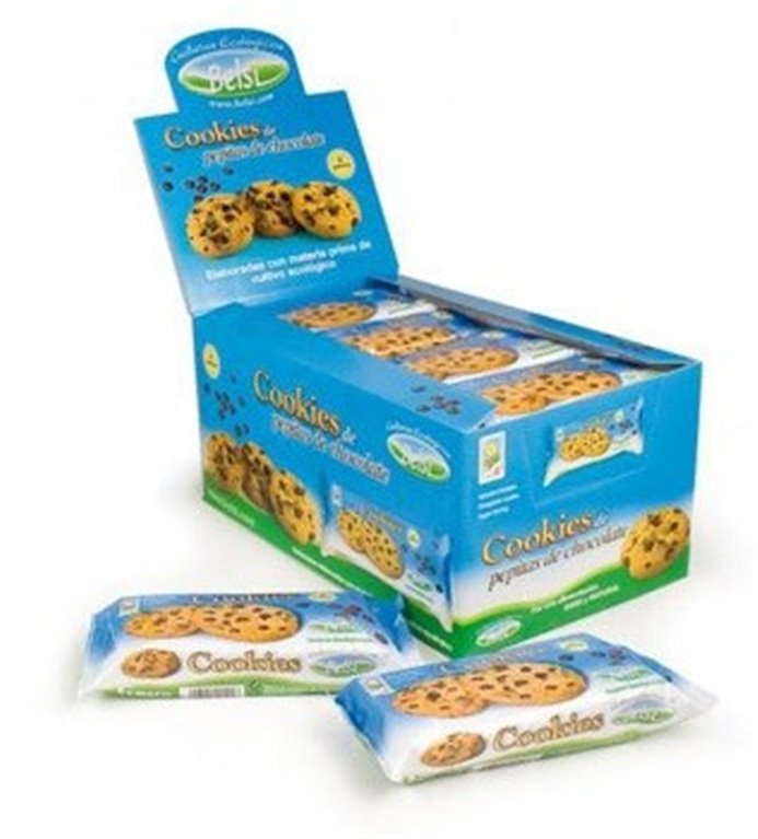 Cookies con Pepitas de Chocolate Bio 70g, 1 ud