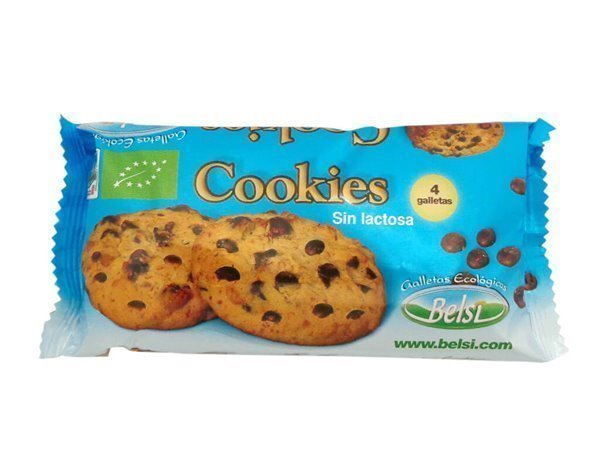 Cookies con trozos de chocolate SIN LACTOSA- 4-unds