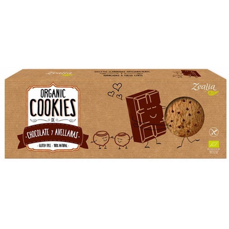 Cookies de Chocolate y Avellanas Sin Gluten Bio 135g