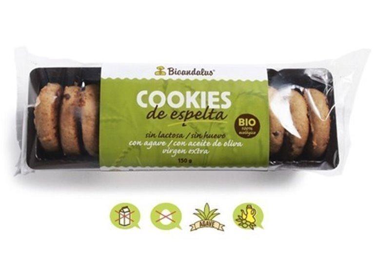 Cookies de espelta, 150 gr