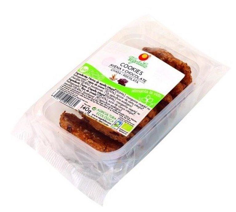 Cookies de Espelta con Avena y Chocolate Bio 140g, 1 ud