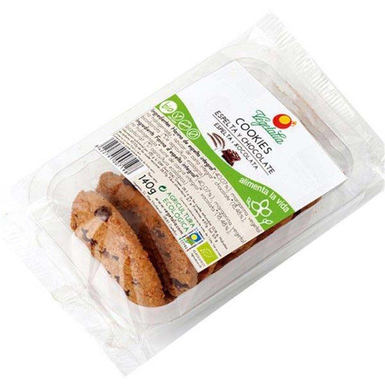 Cookies de Espelta y Chocolate Bio 140g, 1 ud