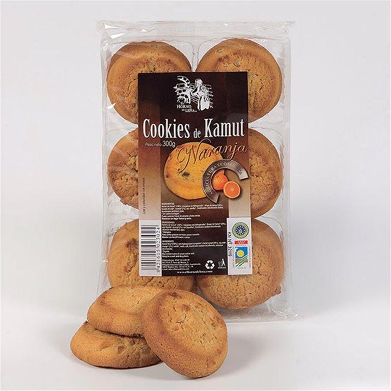 Cookies de TRIGO khorasan KAMUT® (Sin Azúcar) Bio 300g, 1 ud