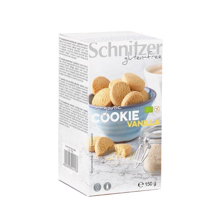 Cookies de Vainilla Sin Gluten Bio 150g