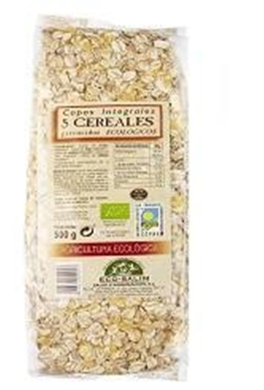 Copos 5 Cereales Bio 500g