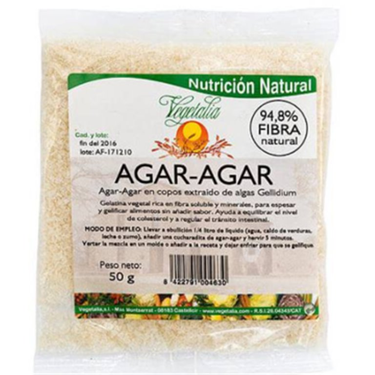 Alga Agar Agar en Copos Bio 50g, 1 ud