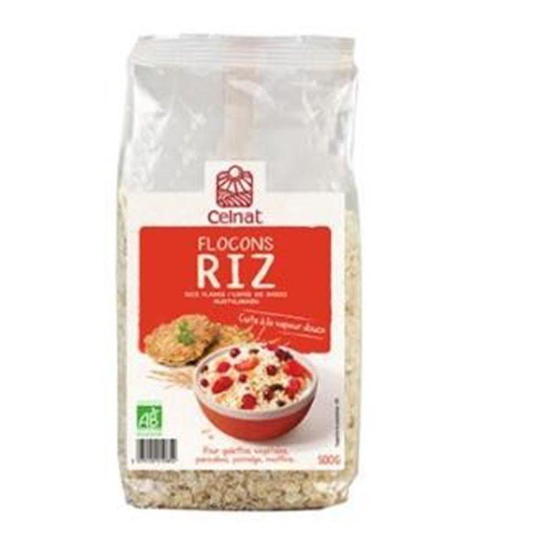 Copos de Arroz Integral Bio 250g