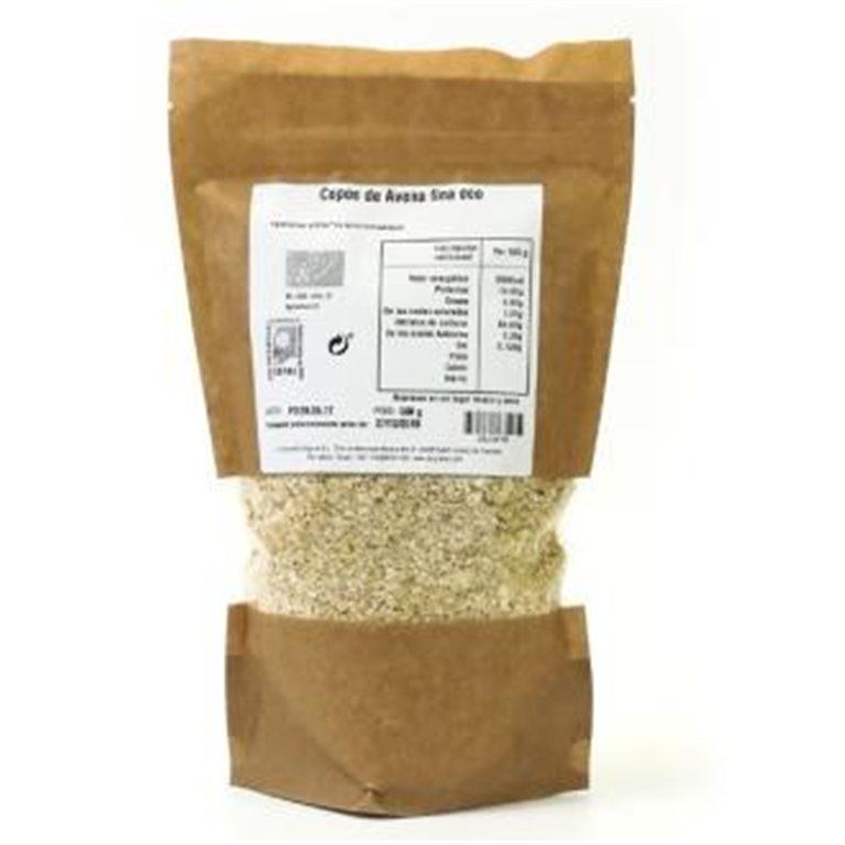 Copos de Avena Finos Sin Gluten Bio 500g
