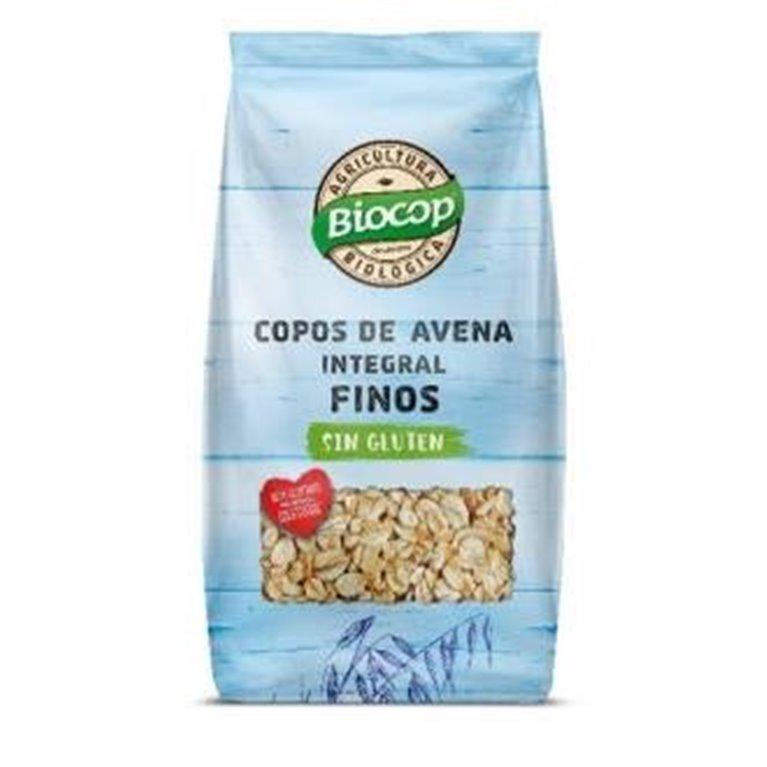 Copos de Avena Integral Sin Gluten Finos Bio 500g