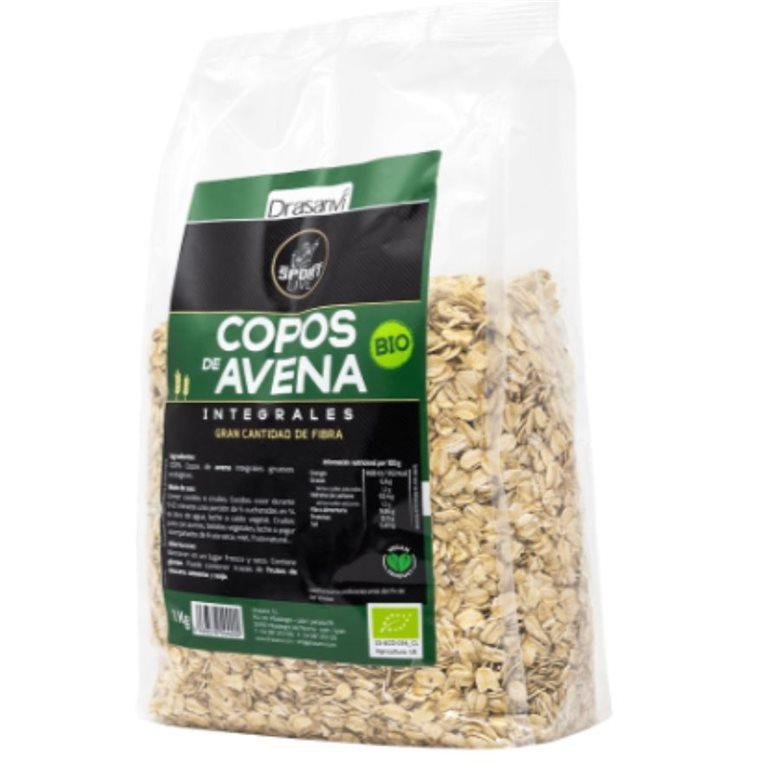 Copos de Avena Integral Gruesos Bio 1kg
