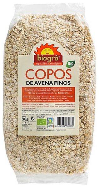 Copos de Avena Integral Gruesos Bio 500g
