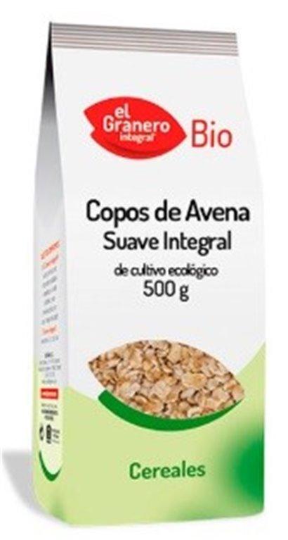 Copos de Avena Integral Suaves Bio 500g