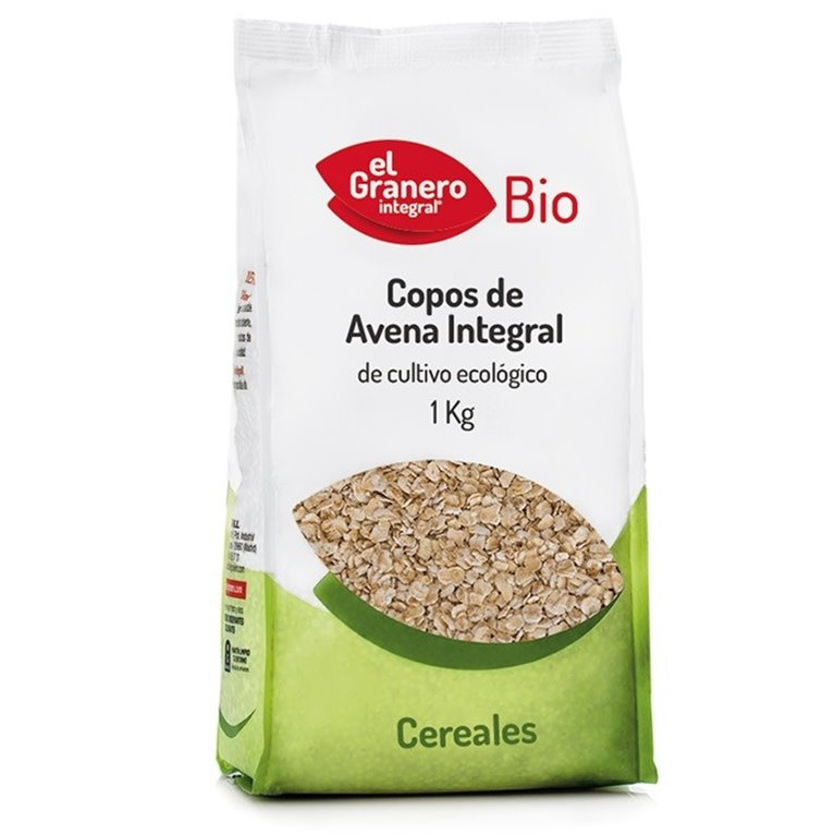 Copos de Avena Integral Suaves Bio 1kg